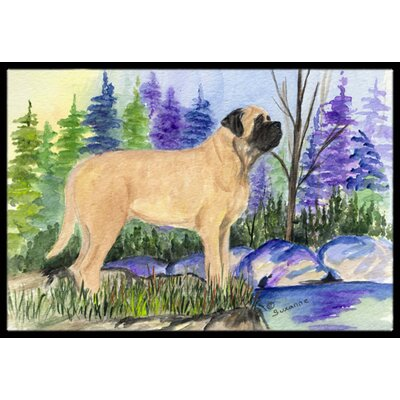 Mastiff Doormat Mat Size: Rectangle 16 x 2 3