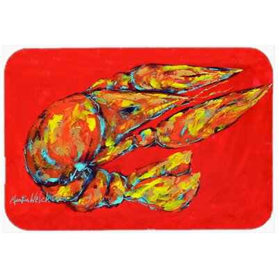 Reach For The Claws Kitchen/Bath Mat Size: 24