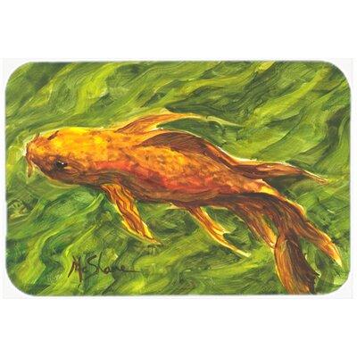 Fish Koi Kitchen/Bath Mat Size: 24 H x 36 W x 0.25 D