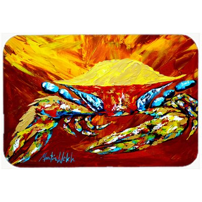 Crab Buster Kitchen/Bath Mat Size: 24 H x 36 W x 0.25 D