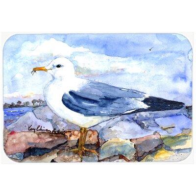 Bird Thayers Gull Kitchen/Bath Mat Size: 24 H x 36 W x 0.25 D