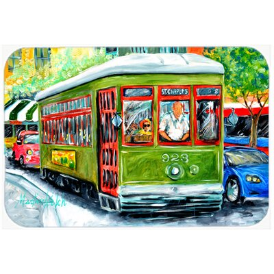 Street Car Kitchen/Bath Mat Size: 20 H x 30 W x 0.25 D