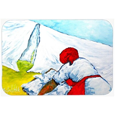 Must Be Monday Kitchen/Bath Mat Size: 20 H x 30 W x 0.25 D
