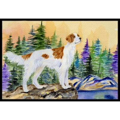 Setter Doormat Rug Size: Rectangle 2 x 3
