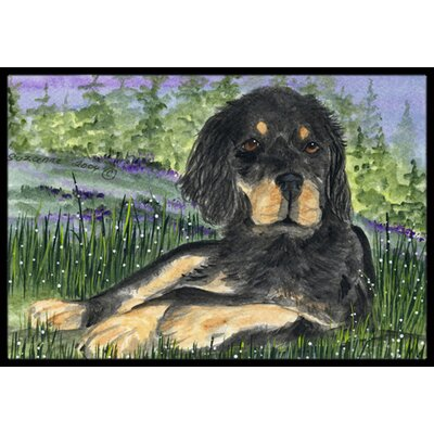 Gordon Setter Doormat Rug Size: Rectangle 2 x 3