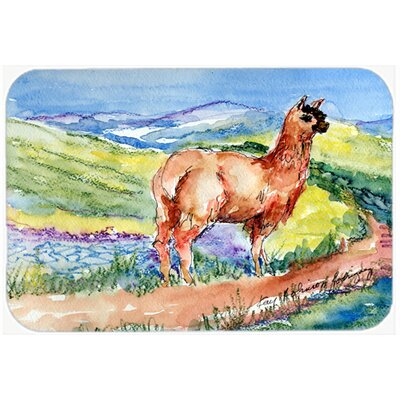 Llama Kitchen/Bath Mat Size: 24 H x 36 W x 0.25 D