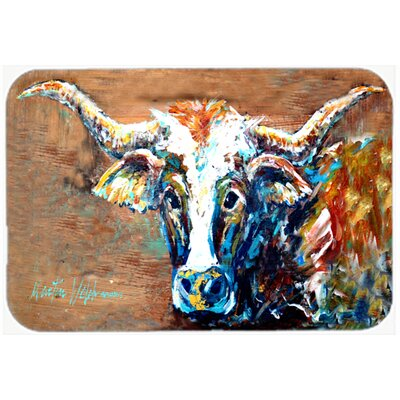 On The Loose Cow Kitchen/Bath Mat Size: 24 H x 36 W x 0.25 D