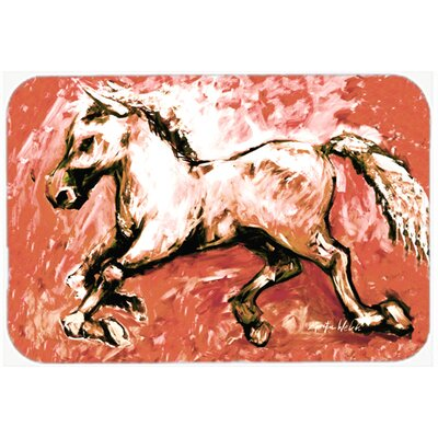 Shadow The Horse InKitchen/Bath Mat Size: 24 H x 36 W x 0.25 D