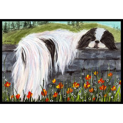 Japanese Chin Doormat Rug Size: 16 x 2 3
