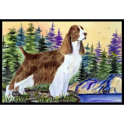 Springer Spaniel Doormat Mat Size: Rectangle 16 x 2 3