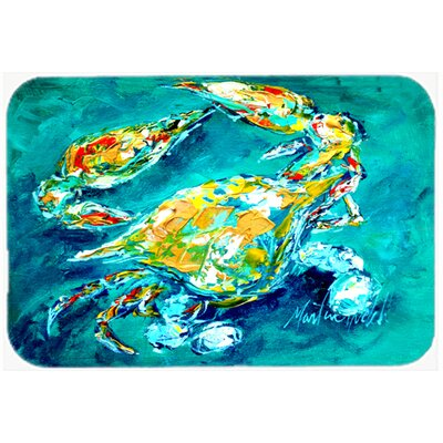 By Chance Crab Kitchen/Bath Mat Size: 24 H x 36 W x 0.25 D