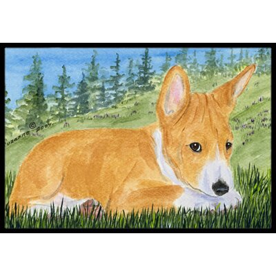 Basenji Doormat Mat Size: Rectangle 16 x 2 3