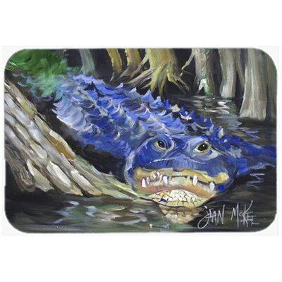 Alligator Kitchen/Bath Mat Size: 20 H x 30 W x 0.25 D