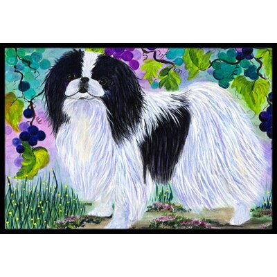 Japanese Chin Doormat Mat Size: Rectangle 16 x 2 3