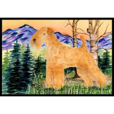 Lakeland Terrier Doormat Rug Size: 16 x 2 3