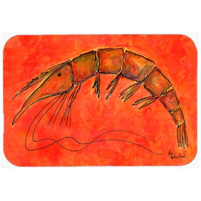 Shrimp Kitchen/Bath Mat Size: 24 H x 36 W x 0.25 D
