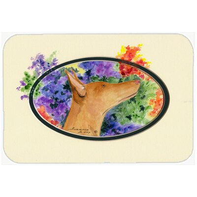 Pharaoh Hound Kitchen/Bath Mat Size: 24 H x 36 W x 0.25 D