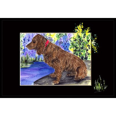 Boykin Spaniel Doormat Mat Size: Rectangle 16 x 2 3