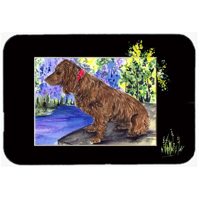 Boykin Spaniel Kitchen/Bath Mat Size: 24
