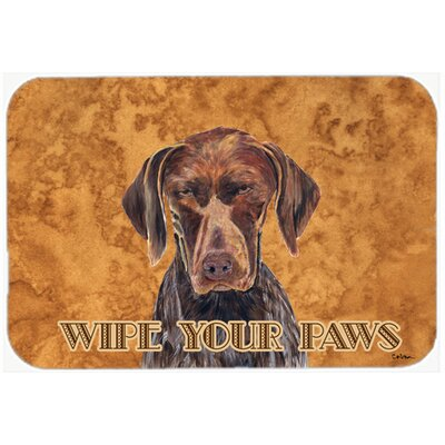 German Shorthai Pointer Kitchen/Bath Mat Size: 24 H x 36 W x 0.25 D