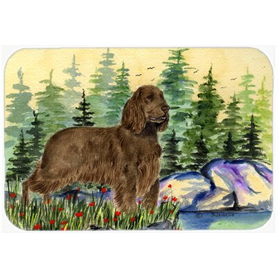 Field Spaniel Kitchen/Bath Mat Size: 24 H x 36 W x 0.25 D
