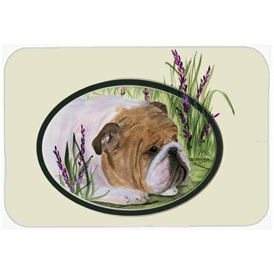 English Bulldog Kitchen/Bath Mat Size: 20 H x 30 W x 0.25 D
