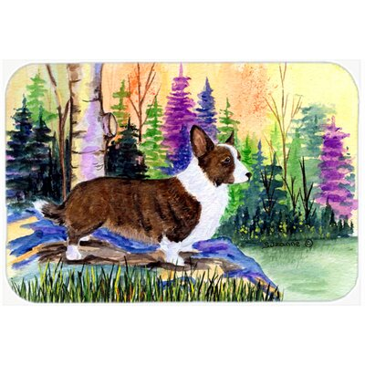 Corgi Kitchen/Bath Mat Size: 20 H x 30 W x 0.25 D