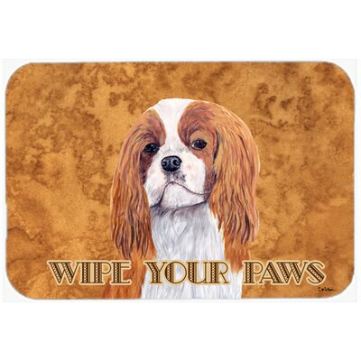 Cavalier Spaniel Kitchen/Bath Mat Size: 20