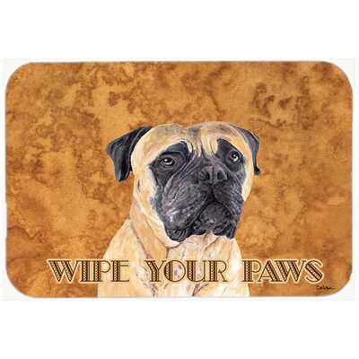 Mastiff Kitchen/Bath Mat Size: 24 H x 36 W x 0.25 D