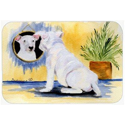 Bull Terrier Kitchen/Bath Mat Size: 24 H x 36 W x 0.25 D