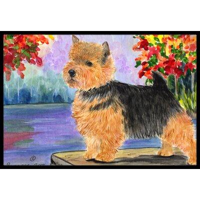 Norwich Terrier Doormat Mat Size: Rectangle 16 x 2 3