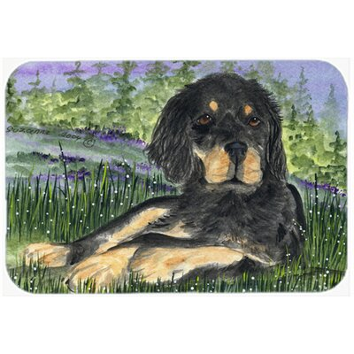 Gordon Setter Kitchen/Bath Mat Size: 24 H x 36 W x 0.25 D