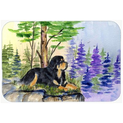 Tibetan Mastiff Kitchen/Bath Mat Size: 24 H x 36 W x 0.25 D