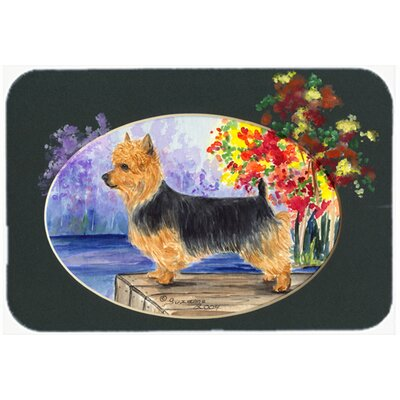 Australian Terrier Kitchen/Bath Mat Size: 24