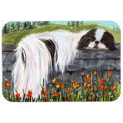 Japanese Chin Kitchen/Bath Mat Size: 20 H x 30 W x 0.25 D