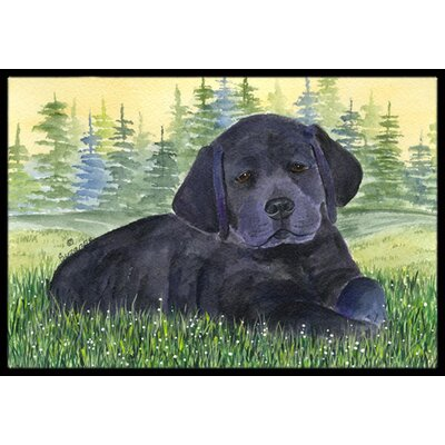 Labrador Doormat Mat Size: Rectangle 16 x 2 3