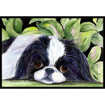 Japanese Chin Doormat Rug Size: Rectangle 16 x 2 3