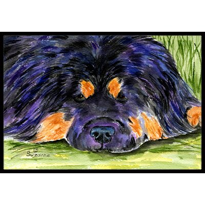Tibetan Mastiff Doormat Rug Size: Rectangle 16 x 2 3