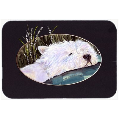 Westie Kitchen/Bath Mat Size: 20 H x 30 W x 0.25 D