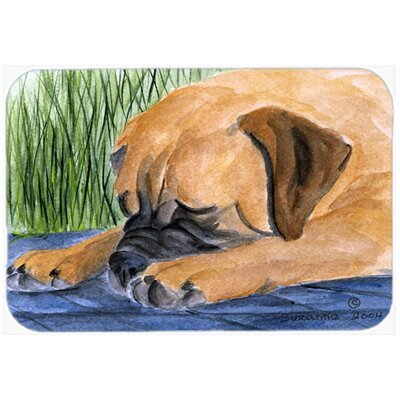 Bullmastiff Kitchen/Bath Mat Size: 24 H x 36 W x 0.25 D