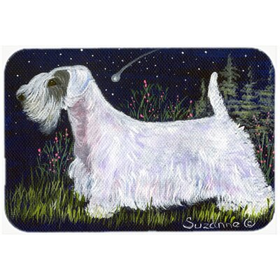 Sealyham Terrier Kitchen/Bath Mat Size: 24 H x 36 W x 0.25 D