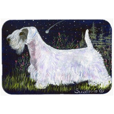 Sealyham Terrier Kitchen/Bath Mat Size: 24 H x 36 W x 0.25 D