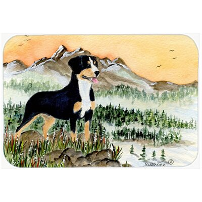 Entlebucher Mountain Dog Kitchen/Bath Mat Size: 24 H x 36 W x 0.25 D
