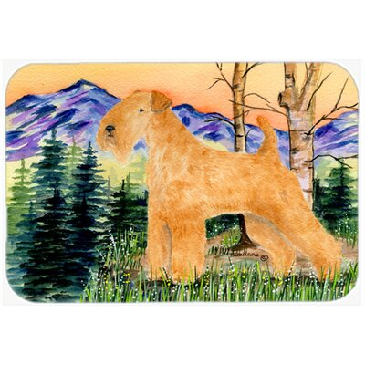 Lakeland Terrier Kitchen/Bath Mat Size: 24 H x 36 W x 0.25 D