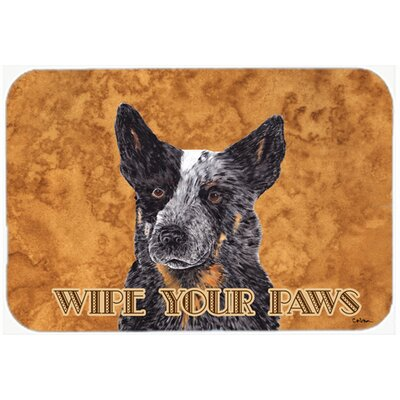 Australian Cattle Dog Kitchen/Bath Mat Size: 24 H x 36 W x 0.25 D