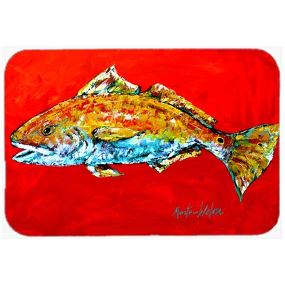 FishHead Kitchen/Bath Mat Size: 20 H x 30 W x 0.25 D
