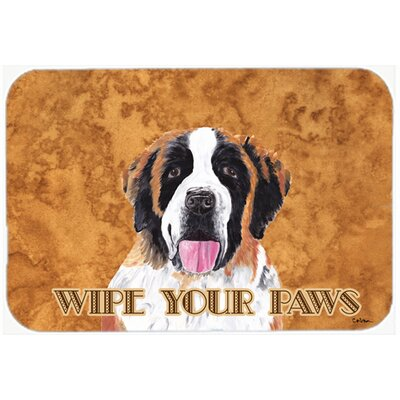 Saint Bernard Kitchen/Bath Mat Size: 24 H x 36 W x 0.25 D