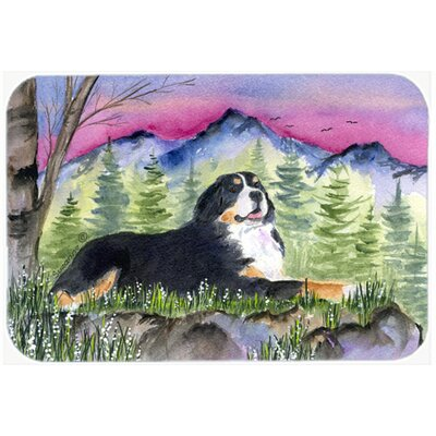 Bernese Mountain Dog Kitchen/Bath Mat Size: 24 H x 36 W x 0.25 D