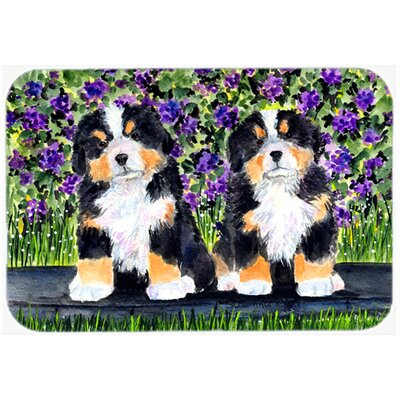 Bernese Mountain Dog Kitchen/Bath Mat Size: 20 H x 30 W x 0.25 D