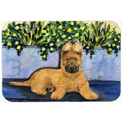 Briard Kitchen/Bath Mat Size: 24 H x 36 W x 0.25 D